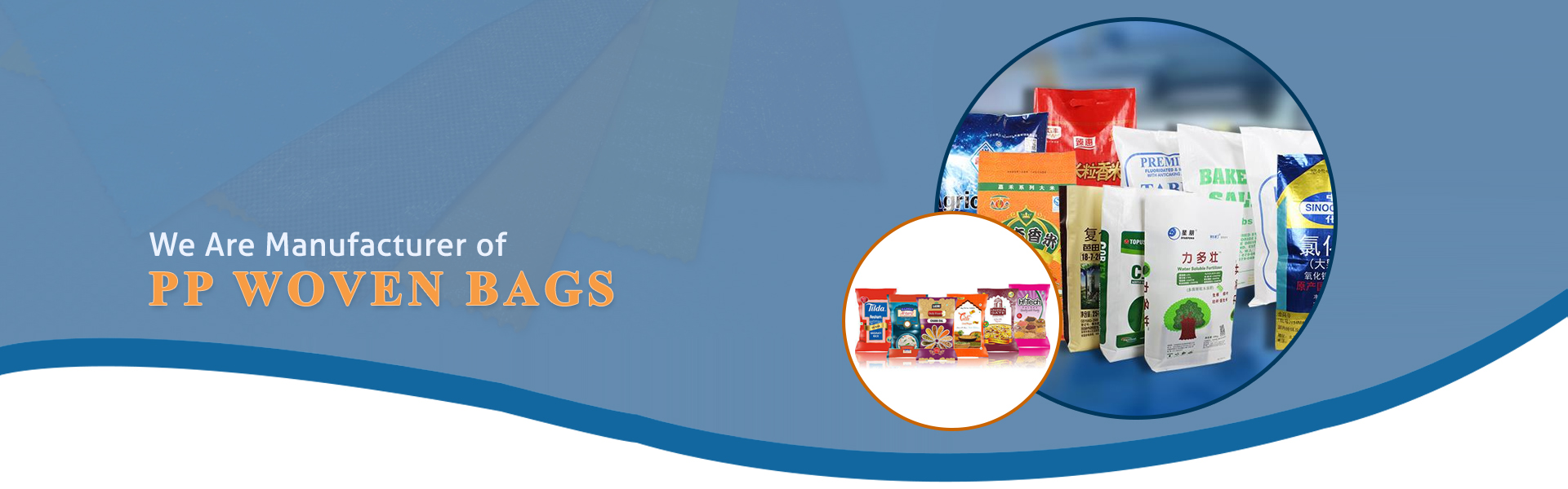 Laminated PP Woven Bags Manufacturer in Gujarat